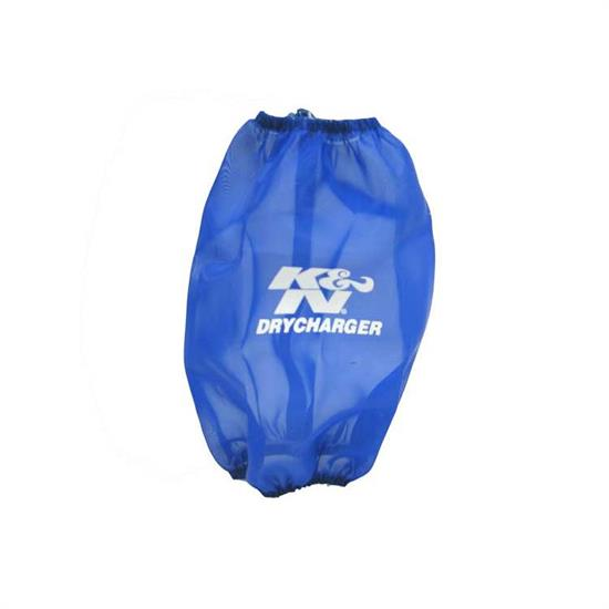 K&N RF-1045DL DryCharger Air Filter Wrap, 8in Tall, Blue
