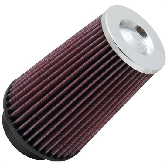 K&N RF-1045 Air Filter, 8in Tall, Round Tapered