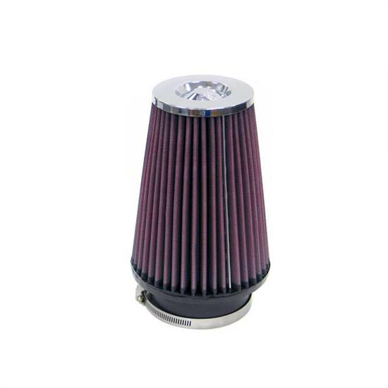 K&N RF-1046 Air Filter, 8in Tall, Round Tapered