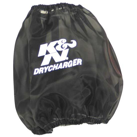 K&N RF-1048DK DryCharger Air Filter Wrap, 6in Tall, Black