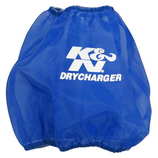 K&N RF-1048DL DryCharger Air Filter Wrap, 6in Tall, Blue
