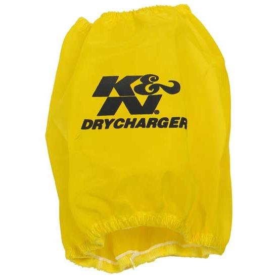 K&N RF-1048DY DryCharger Air Filter Wrap, 6in Tall, Yellow