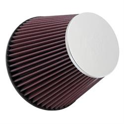 K&N RF-1048 Air Filter, 6in Tall, Round Tapered