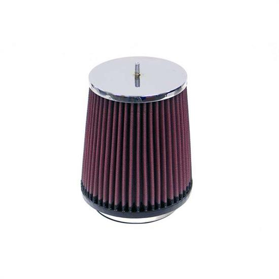 K&N RF-1049 Air Filter, 6in Tall, Round Tapered