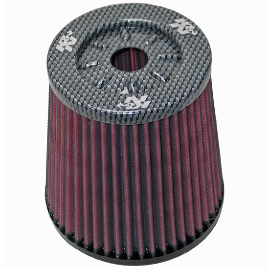 K&N RF-1633 Powersports Air Filter, 6in Tall, Round Tapered