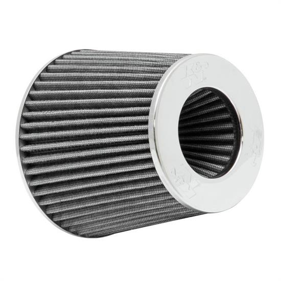 K&N RG-1001WT Performance Air Filters, White, 5.5 Tall, Round Tapered