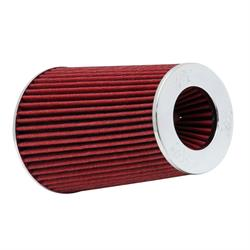 K&N RG-1002RD Performance Air Filters, Red, 9.5in Tall, Round Tapered