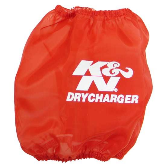 K&N RP-4660DR DryCharger Air Filter Wrap, 5.5in Tall, Red
