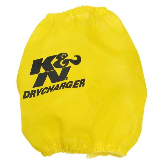 K&N RP-4660DY DryCharger Air Filter Wrap, 5.5in Tall, Yellow