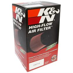 K&N RP-4970 Air Filter, Carbon Fiber Top, 7in Tall, Round Tapered