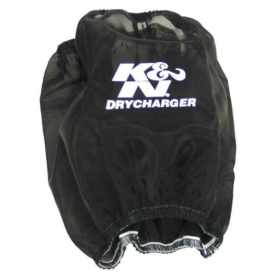 K&N RP-5103DK DryCharger Air Filter Wrap, 7in Tall, Black