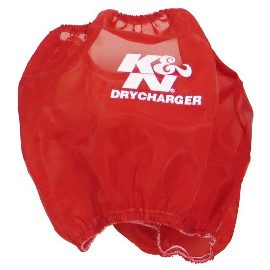 K&N RP-5103DR DryCharger Air Filter Wrap, 7in Tall, Red