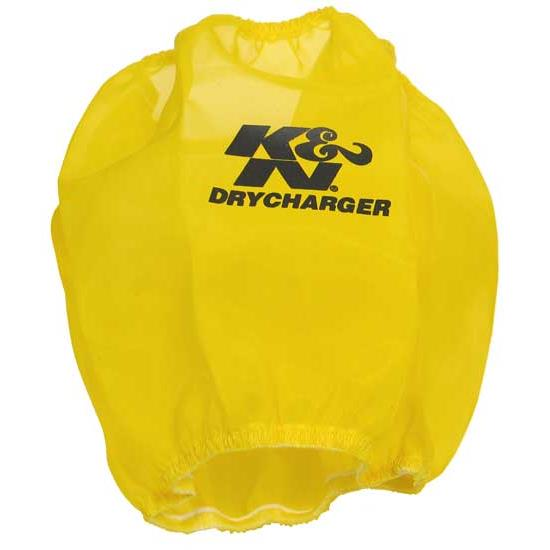 K&N RP-5103DY DryCharger Air Filter Wrap, 7in Tall, Yellow