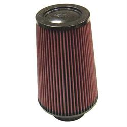 K&N RP-5118 Air Filter, Carbon Fiber Top, 9in Tall, Round Tapered