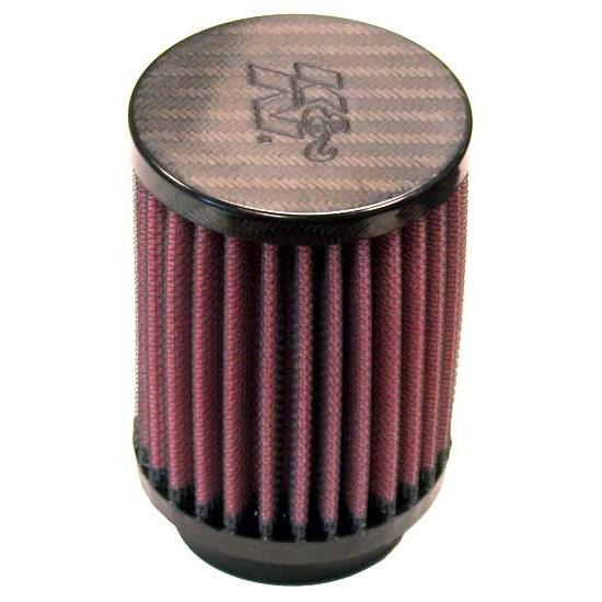 K&N RP-5119 Air Filter, Carbon Fiber Top, 4in Tall, Round