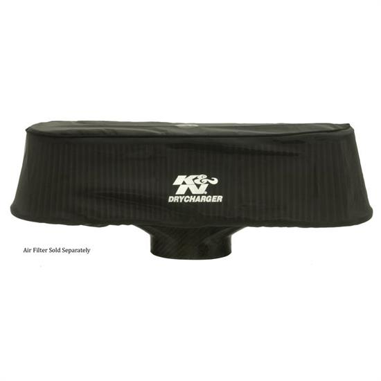 K&N RP-5135DK DryCharger Air Filter Wrap, 4.813in Tall, Black