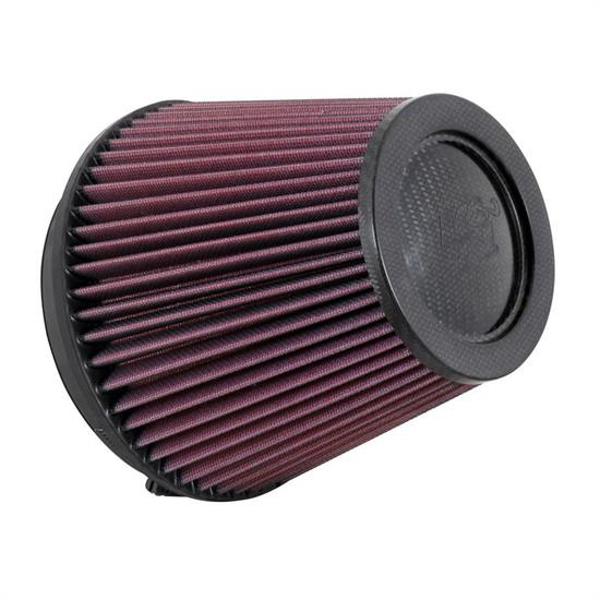 K&N RP-5168 Air Filter, Carbon Fiber Top, 6in Tall, Round