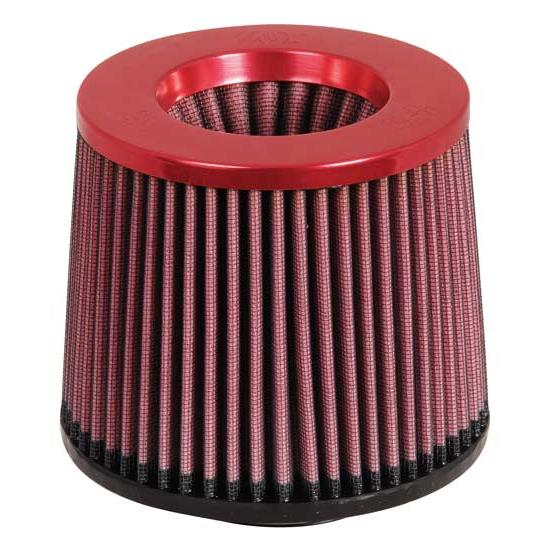 K&N RR-2801 Reverse Conical Air Filter, Red, 5in Tall, Round