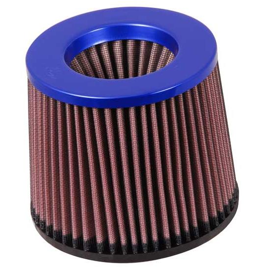 K&N RR-2802 Reverse Conical Air Filter, Blue, 5in Tall, Round