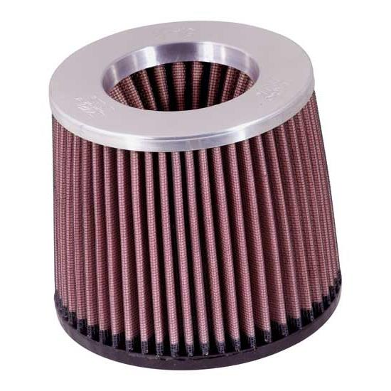 K&N RR-2803 Reverse Conical Air Filter, 5in Tall, Round Reverse Taper