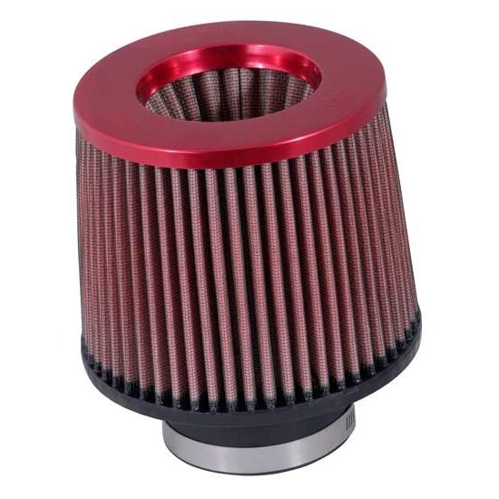 K&N RR-3001 Reverse Conical Air Filter, Red, 5in Tall, Round