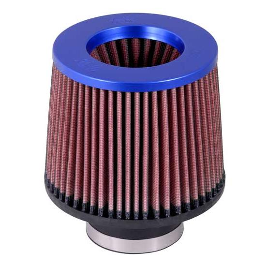 K&N RR-3002 Reverse Conical Air Filter, Blue, 5in Tall, Round