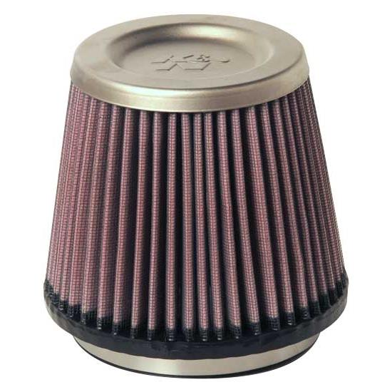 K&N RT-4610 Air Filter - Titanium Top, 5in Tall, Round Tapered