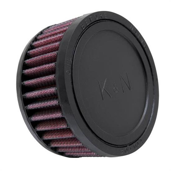 K&N RU-0260 Performance Air Filters, 2in Tall, Round