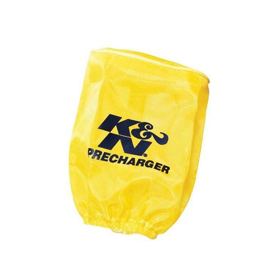 K&N RU-0510PY PreCharger Air Filter Wrap, 5in Tall, Yellow