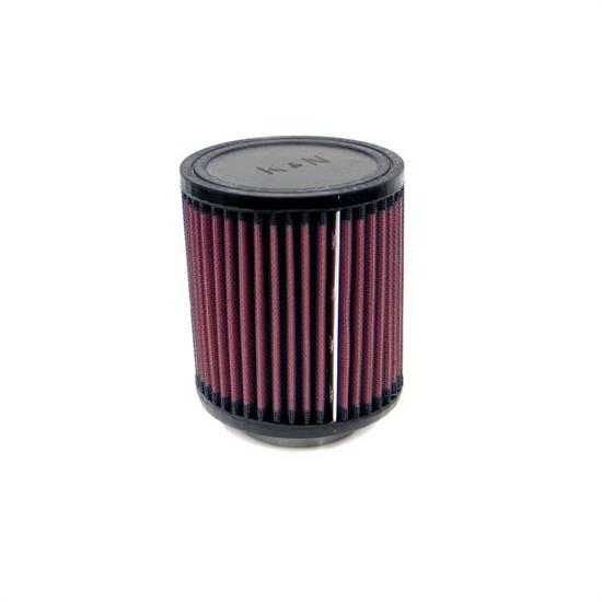 K&N RU-0640 Performance Air Filters, 5in Tall, Round