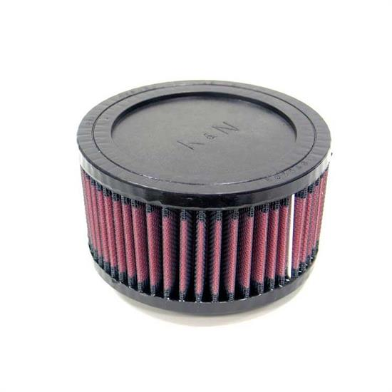K&N RU-0660 Performance Air Filters, 3in Tall, Round