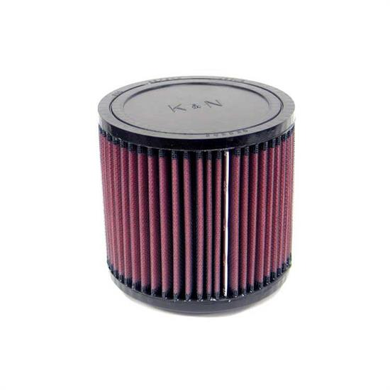 K&N RU-0680 Performance Air Filters, 5in Tall, Round