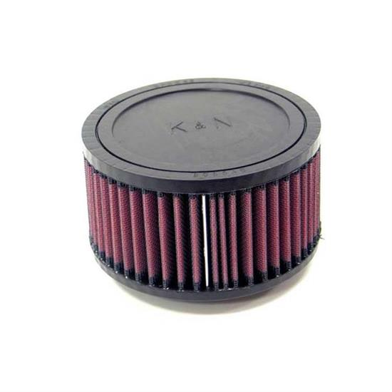 K&N RU-0870 Performance Air Filters, 3in Tall, Round