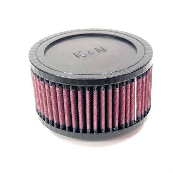 K&N RU-0940 Performance Air Filters, 3in Tall, Round