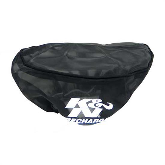 K&N RU-0980PK PreCharger Air Filter Wrap, 3in Tall, Black