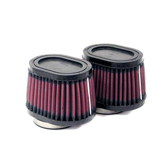 K&N RU-0982 Performance Air Filters, 2.75in Tall, Oval Straight