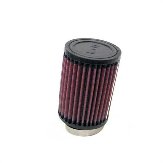 K&N RU-1080 Performance Air Filters, 5in Tall, Round