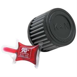 K&N RU-1130 Performance Air Filters, 2.5in Tall, Round