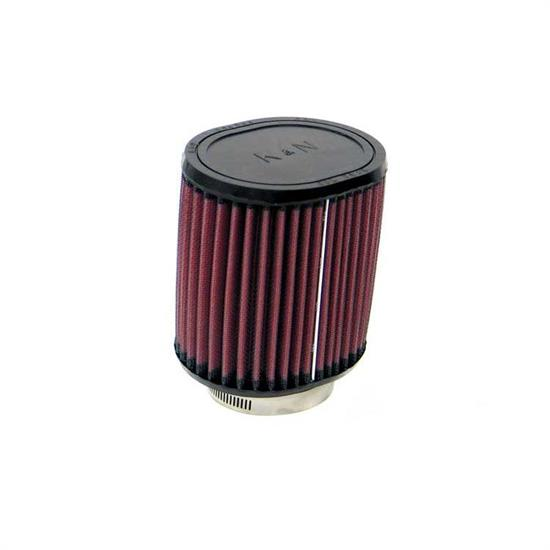K&N RU-1220 Performance Air Filters, 5in Tall, Oval