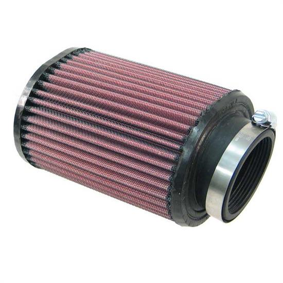 K&N RU-1230 Performance Air Filters, 6in Tall, Oval