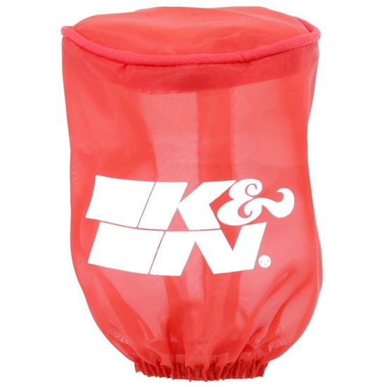 K&N RU-1280DR  Air Filter Wrap, 4in Tall, Red