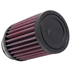K&N RU-1280 Performance Air Filters, 4in Tall, Round