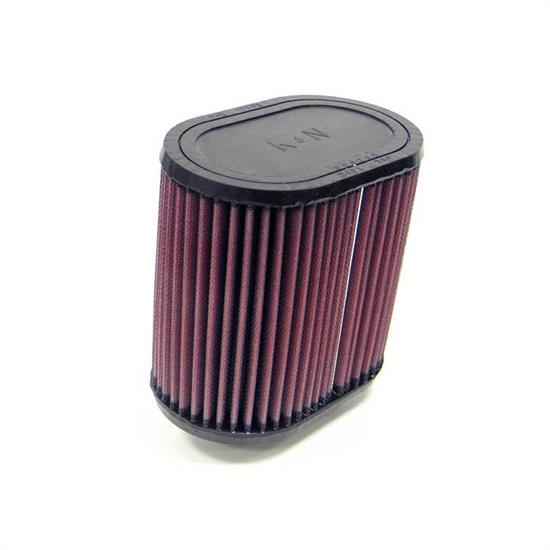 K&N RU-1330 Performance Air Filters, 6in Tall, Oval