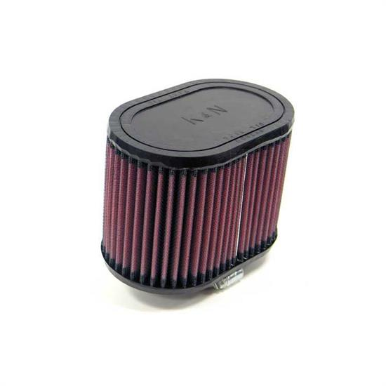 K&N RU-1340 Performance Air Filters, 4.5in Tall, Oval
