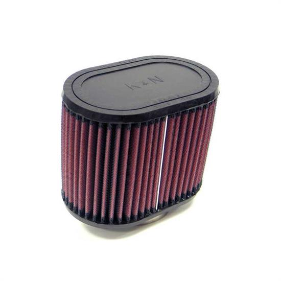 K&N RU-1350 Performance Air Filters, 5in Tall, Oval