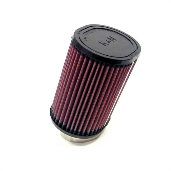 K&N RU-1380 Performance Air Filters, 6in Tall, Oval