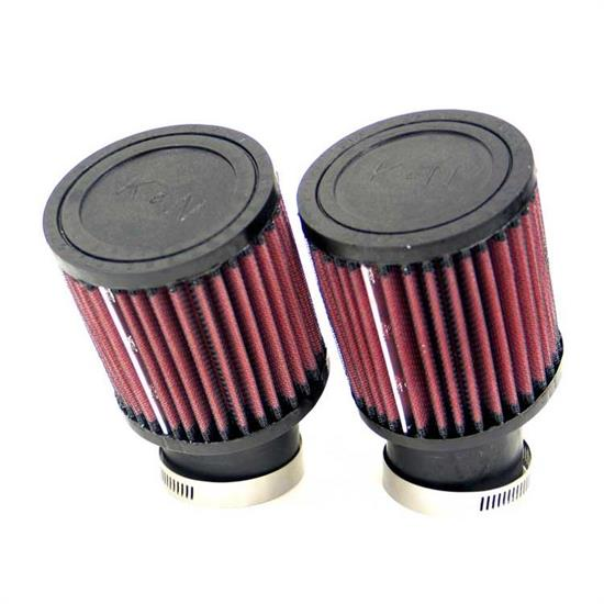 K&N RU-1402 Performance Air Filters, 4in Tall, Round