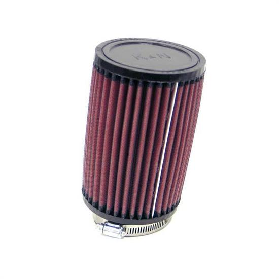 K&N RU-1470 Performance Air Filters, 6in Tall, Round
