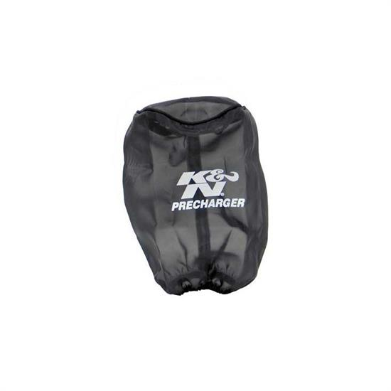 K&N RU-1480PK PreCharger Air Filter Wrap, 7in Tall, Black