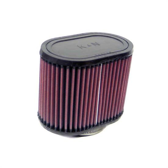 K&N RU-1530 Performance Air Filters, 5in Tall, Oval